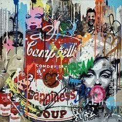 Everybody Must Have a Fantasy by Yuvi -  sized 30x30 inches. Available from Whitewall Galleries